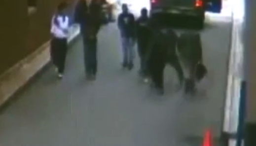Black Thugs Play Evil 'Knockout'