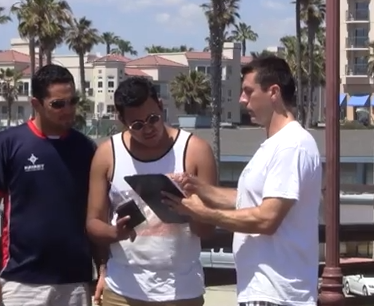 Mark Dice asks random people to sign a petition to...