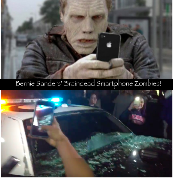 Bernie Sanders' New Bolshevik Zombies Smash...