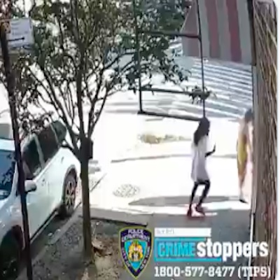 Shocking Crime Caught On Video: Woman Randomly Shoves A Toddler To The Ground